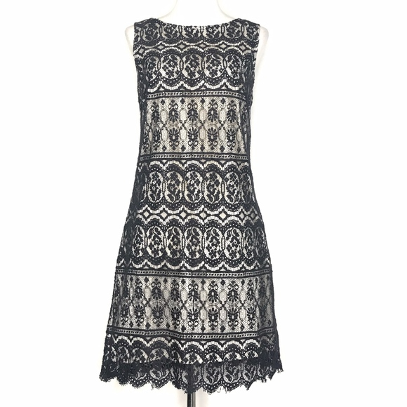M. Kalan Dresses & Skirts - M. Kalan Black Lace Sleeveless Dress A160615